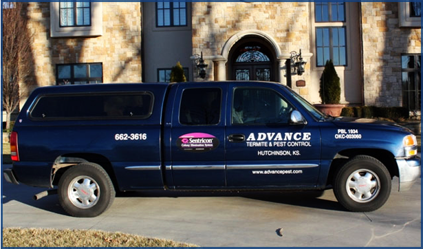Advance Pest Services Truck